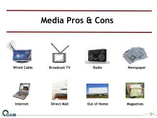 Media Pros & Cons