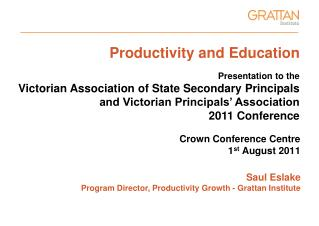 Productivity and Education