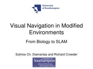 Visual Navigation in Modified Environments