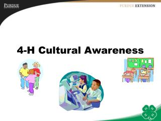 4-H Cultural Awareness