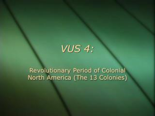 VUS 4: