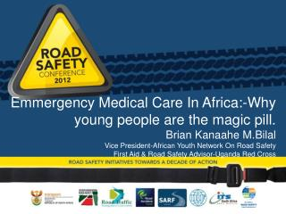 Who is the African Youth Network on Road Safety