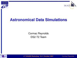 Astronomical Data Simulations