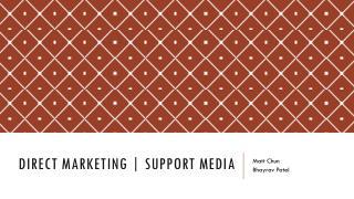 Direct Marketing | Support Media