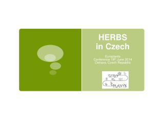HERBS  in Czech