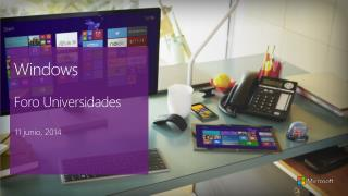 Windows Foro Universidades