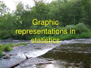 Graphic representations in statistics