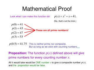 Mathematical Proof