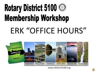 "ERK ""OFFICE HOURS"""