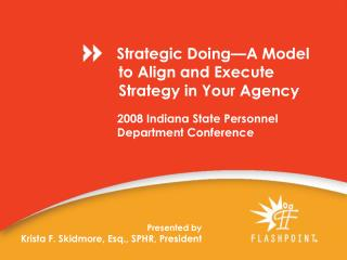 2008 Indiana State Personnel Department Conference