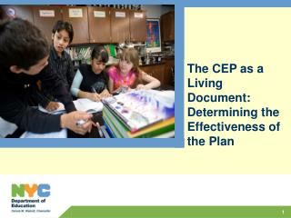 The CEP as a Living Document: Determining the Effectiveness of the Plan