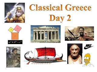 Classical  Greece Day 2