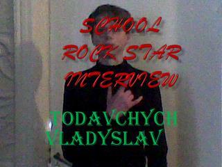 School  rock star interview