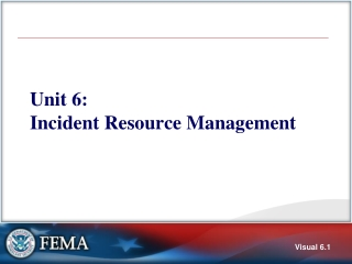 New Emergency Transportation Operations Resources