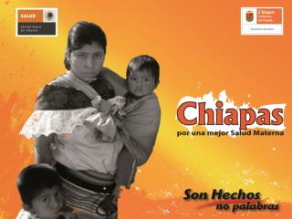 Gobierno del Estado de Chiapas Secretar�a de Salud