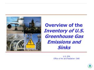Overview of the Inventory of U.S. Greenhouse Gas Emissions  and  Sinks