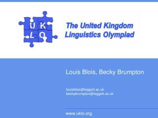 Louis Blois, Becky Brumpton