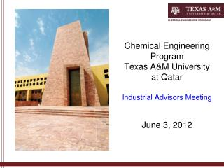 CHEMICAL ENGINEERING Advisory Board Meeting