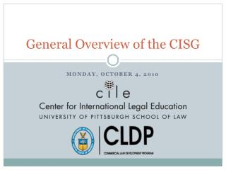 General Overview of the CISG