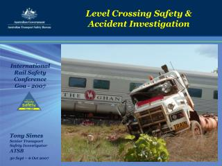 Level Crossing Safety & Accident Investigation