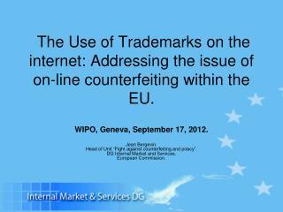 WIPO, Geneva, September 17, 2012.