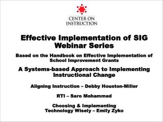 Aligning Instruction - Introduction