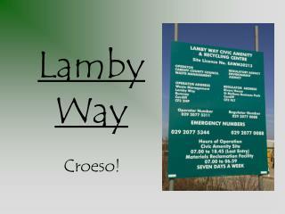 Lamby Way