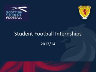 Student Football Internships