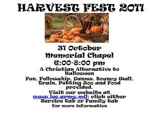 HARVEST FEST 2011