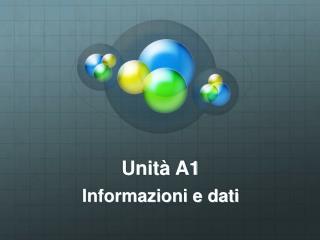Unità A1