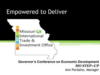 Empowered to Deliver