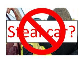Steal car?
