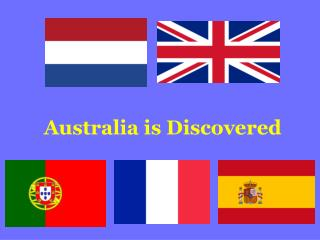 Australia is Discovered