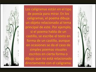 CALIGRAMA DE APOLLINAIRE