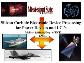 Silicon Carbide Electronic Device Processing for Power Devices and I.C. s