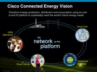 Cisco Connected Energy Vision