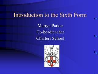 Introduction to the Sixth Form