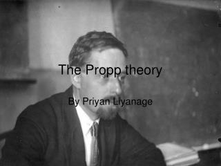 The Propp theory