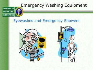 Emergency Washing Equipment