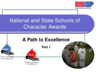 National and State Schools of Character Awards