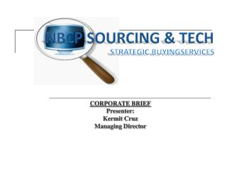 NBCP SOURCING  & TECH