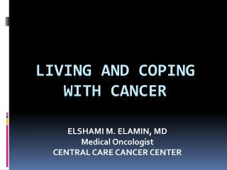 Living and Coping with cancer