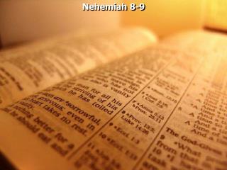 Nehemiah 8-9