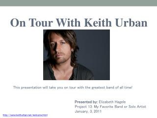 On Tour With Keith Urban