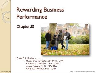 Rewarding Business Performance