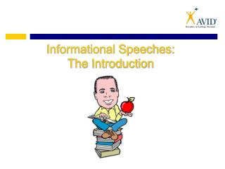 Informational Speeches: The Introduction