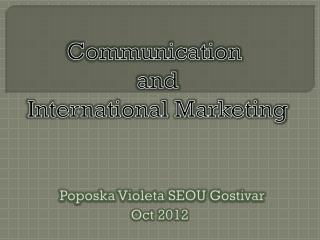 Poposka Violeta  SEOU  Gostivar Oct 2012