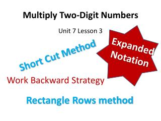 Multiply Two-Digit Numbers
