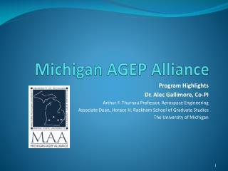 Michigan AGEP Alliance