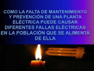 SERVICIO DE ELECTRICIDAD EN LA CIUDAD DE BARRANQUILLA